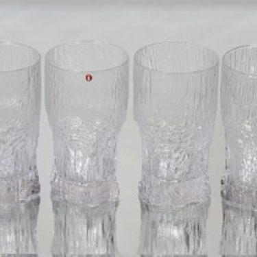Iittala Aslak lasit, 30 cl, 4 kpl, suunnittelija Tapio Wirkkala, 30 cl, 30 cl