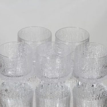 Iittala Ultima Thule lasit, 15 cl, 5 kpl, suunnittelija Tapio Wirkkala, 15 cl, 15 cl