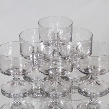 Iittala Karelia glasses, 7 cl, 6 pcs, Tapio Wirkkala