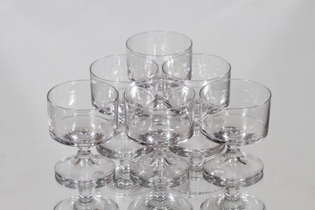 Iittala Karelia lasit, 7 cl, 6 kpl, suunnittelija Tapio Wirkkala, 7 cl, pieni