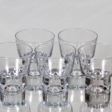 Iittala Future lasit, 12 cl, 5 kpl, suunnittelija Tapio Wirkkala, 12 cl, pieni, 12 cl