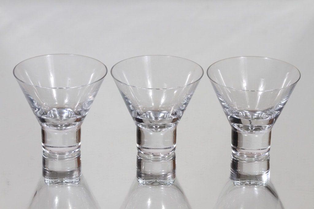 Iittala Aarne lasit, 12 cl, 3 kpl, suunnittelija Göran Hongell, 12 cl