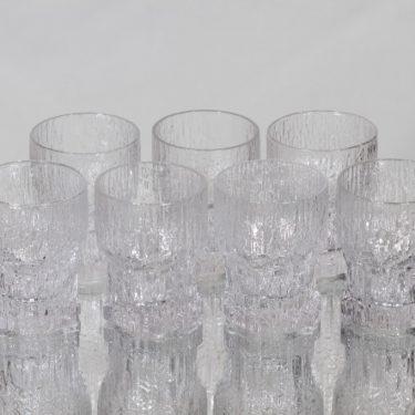 Iittala Aslak lasit, 4 cl, 7 kpl, suunnittelija Tapio Wirkkala, 4 cl, pieni, 4 cl