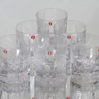 Iittala Kalinka lasit, 10 cl, 6 kpl, suunnittelija Timo Sarpaneva, 10 cl, 10 cl