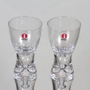 Iittala Tapio lasit, 4 cl, 2 kpl, suunnittelija Tapio Wirkkala, 4 cl, pieni, 4 cl
