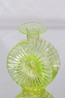 Riihimäen lasi Aurinkopullo koristepullo, koko ¾, suunnittelija Helena Tynell, koko ¾, koko ¾