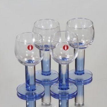 Iittala Mondo lasit, 3 cl, 4 kpl, suunnittelija Kerttu Nurminen, 3 cl, pieni, 3 cl
