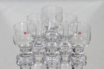 Iittala Joiku lasit, 16 cl, 6 kpl, suunnittelija Tapio Wirkkala, 16 cl, 16 cl