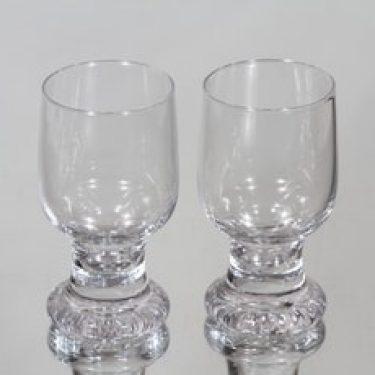 Iittala Joiku lasit, 8 cl, 2 kpl, suunnittelija Tapio Wirkkala, 8 cl, pieni, 8 cl