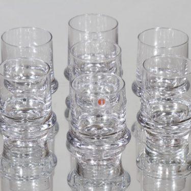 Iittala Marski lasit, 4 cl, 7 kpl, suunnittelija Tapio Wirkkala, 4 cl, pieni