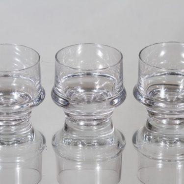 Iittala Marski lasit, 7 cl, 3 kpl, suunnittelija Tapio Wirkkala, 7 cl, pieni