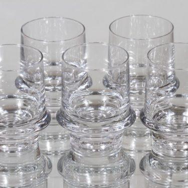Iittala Marski lasit, 8 cl, 5 kpl, suunnittelija Tapio Wirkkala, 8 cl