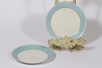 Arabia Kesä leivoslautaset, sininen, 2 kpl, suunnittelija Esteri Tomula,
