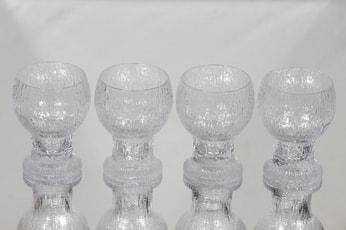Iittala Kekkerit lasit, 16 cl, 4 kpl, suunnittelija Timo Sarpaneva, 16 cl, 16 cl