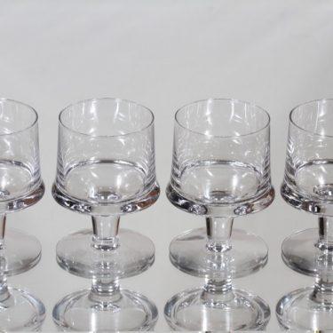 Iittala Marski lasit, 10 cl, 4 kpl, suunnittelija Tapio Wirkkala, 10 cl