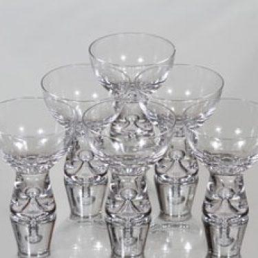 Iittala Tapio lasit, 8 cl, 6 kpl, suunnittelija Tapio Wirkkala, 8 cl, 8 cl