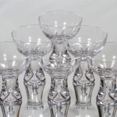 Iittala Tapio lasit, 10 cl, 6 kpl, suunnittelija Tapio Wirkkala, 10 cl, 10 cl