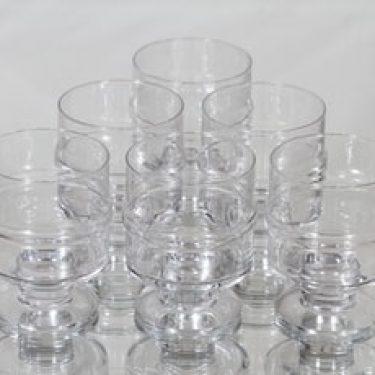 Iittala Pisararengas viinilasit, 26 cl, 6 kpl, suunnittelija Timo Sarpaneva, 26 cl, 26 cl