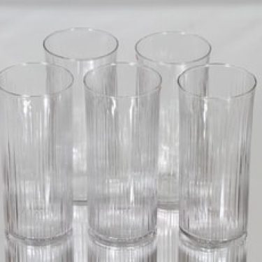 Iittala 2065 lasit, 30 cl, 5 kpl, suunnittelija Tapio Wirkkala, 30 cl, 30 cl