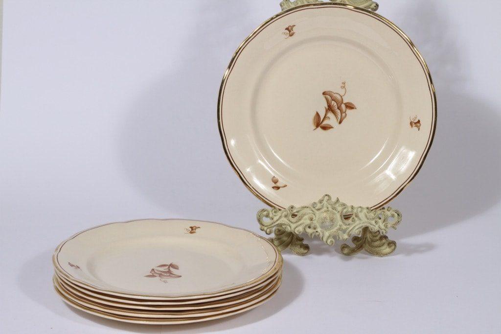 Arabia Sorja lautaset, matala, 6 kpl, suunnittelija , matala, siirtokuva, matala