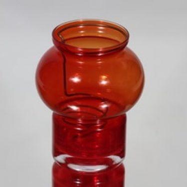 Riihimäen lasi Välkkky kynttilälyhty, punainen, suunnittelija Tamara Aladin, pieni