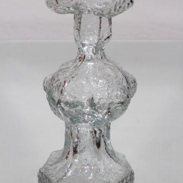 Riihimäen lasi Candida maljakko, kirkas, suunnittelija Nanny Still, suuri