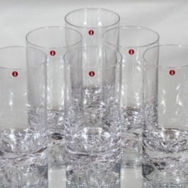Iittala Gaissa lasit, 30 cl, 6 kpl, suunnittelija Tapio Wirkkala, 30 cl