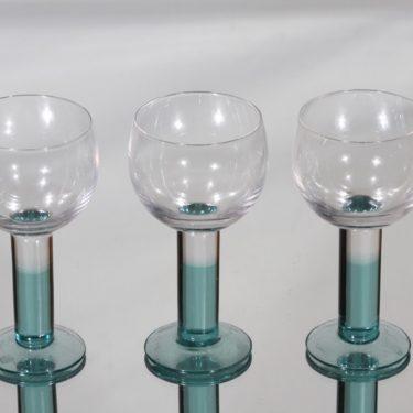Iittala Mondo lasit, 15 cl, 3 kpl, suunnittelija Kerttu Nurminen, 15 cl