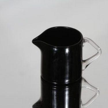Riihimäen lasi 1172 kermakko, musta, suunnittelija Nanny Still,