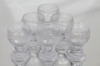Iittala Kekkerit lasit, 16 cl, 6 kpl, suunnittelija Timo Sarpaneva, 16 cl