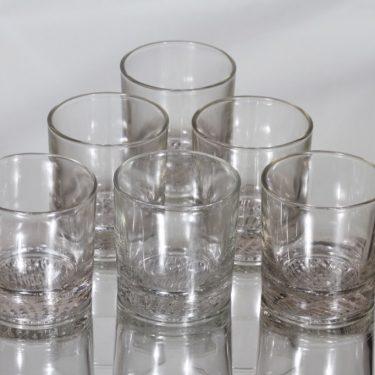 Riihimäen lasi Flindari lasit, 15 cl, 6 kpl, suunnittelija Nanny Still, 15 cl