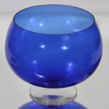 Kumela 204=2550 boolimalja, sininen, suunnittelija Sirkku Kumela-Lehtonen, suuri