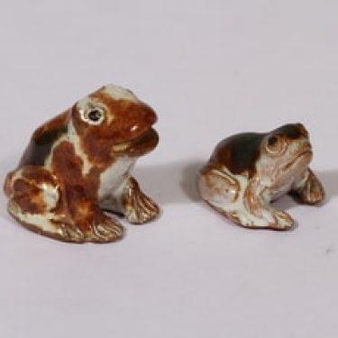 figuurit, sammakko, 2 kpl, suunnittelija Svante Turunen, sammakko