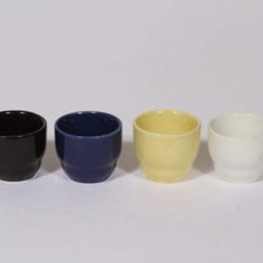 Arabia Kilta munakupit, eri värejä, 4 kpl, suunnittelija Kaj Franck,