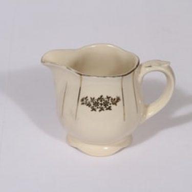 Arabia Irja kermakko, suunnittelija , painettu, kultakoriste