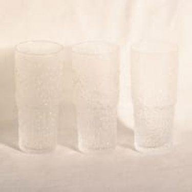 Iittala Paadar lasit, 36 cl, 3 kpl, suunnittelija Tapio Wirkkala, 36 cl
