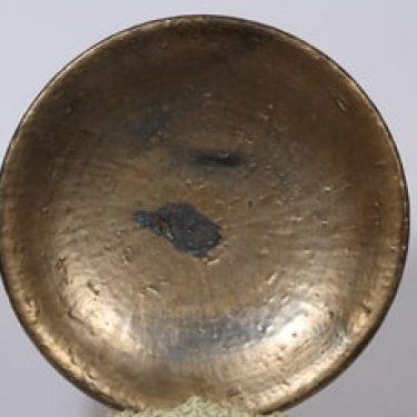 Savitorppa vati, signeerattu, suunnittelija Kauko Forsvik, signeerattu, suuri, käsindreijattu, kullattu