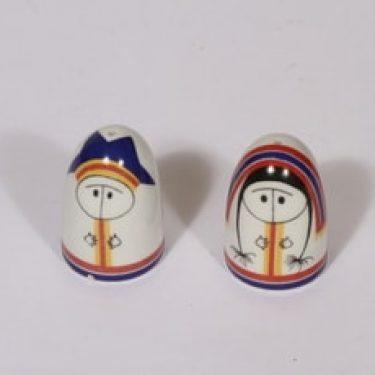 Arabia Lappalainen sirottajat, 2 kpl, suunnittelija Esteri Tomula, painettu ja maalattu