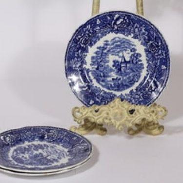 Arabia Maisema lautaset, matala, 4 kpl, suunnittelija , matala, kuparipainokoriste