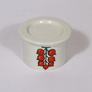 Arabia Tutti Frutti purnukka, suunnittelija Ulla Procope, pieni, serikuva
