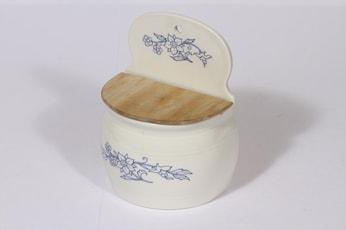 Arabia Sininen keittiö jauhoastia, suunnittelija , kukkakoriste