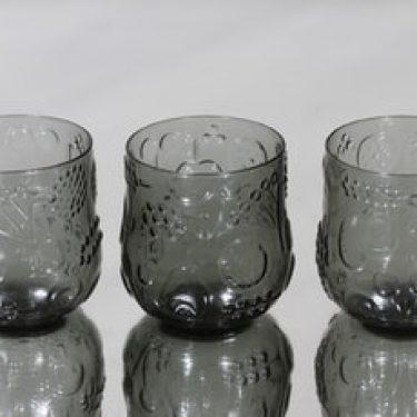 Nuutajärvi Frutta lasit, 20 cl, 3 kpl, suunnittelija Oiva Toikka, 20 cl