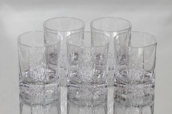 iittala Kalinka lasit, 20 cl, 5 kpl, suunnittelija Timo Sarpaneva, 20 cl