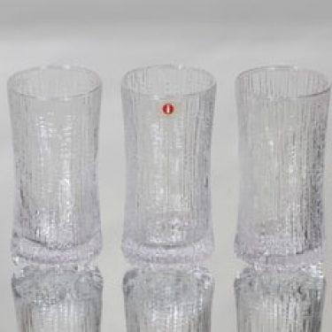 Iittala Ultima Thule lasit, 15 cl, 3 kpl, suunnittelija Tapio Wirkkala, 15 cl