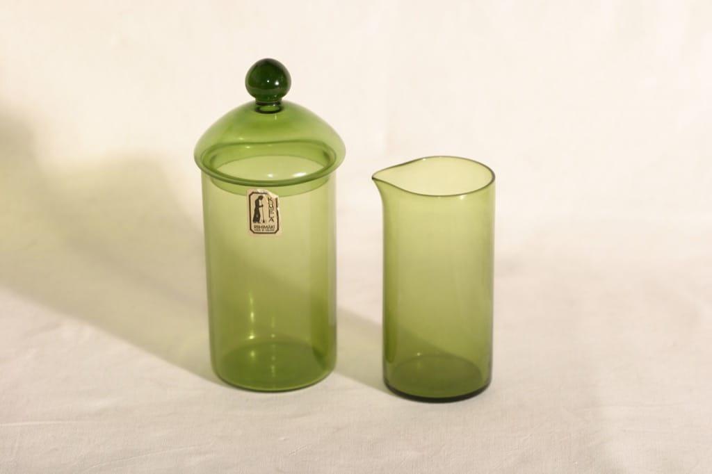 Kumela sokerikko ja kermakko, vihreä, suunnittelija ,