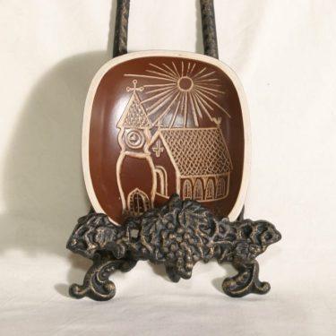 Arabia Tarina koristelautanen, suunnittelija , kirkkoaihe