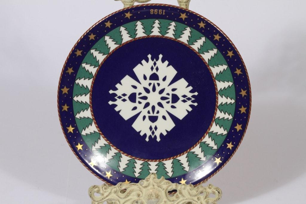 Arabia koristelautanen, Snow Crystal, suunnittelija Tove Slotte, Snow Crystal, serikuva