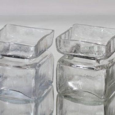 Riihimäen lasi Pala maljakot, koko 4/6, 2 kpl, suunnittelija Helena Tynell, koko 4/6