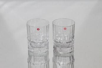 Iittala Pallas lasit, 16 cl, 2 kpl, suunnittelija Tapio Wirkkala, 16 cl