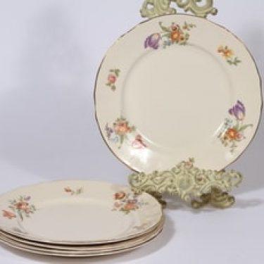 Arabia Kesäkukka lautaset, 5 kpl, suunnittelija ,
